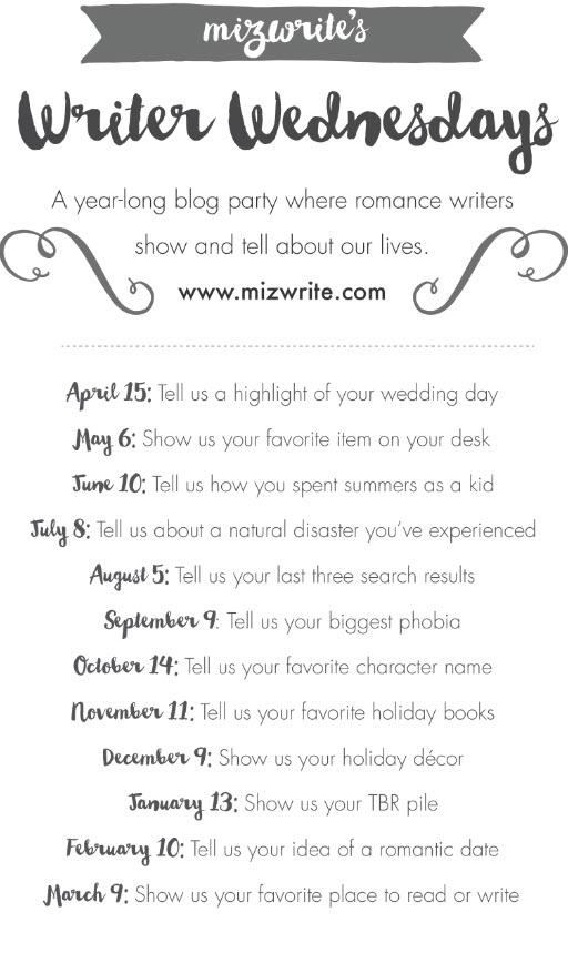 Writer Wednesday List