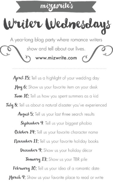 _Writer Wednesday Date List