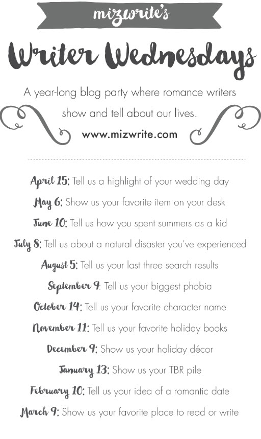 _Writer Wednesday Date List